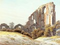 The Ruins Of Eldena Romantic Caspar David Friedrich